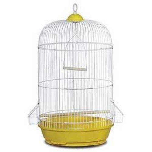 Classic Round Yellow Bird Cage