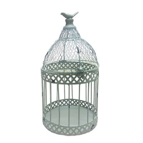 Metal Decorative Bird Cage (Set of 2)