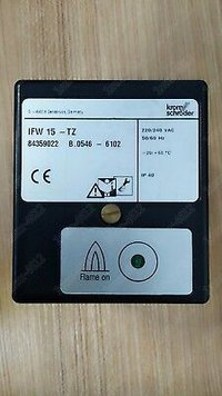 Kromschroder Flame Detector Relay IFW 15