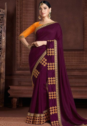 Silk Saree Rangoli