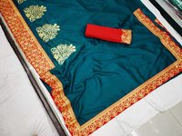 silk saree rangoli