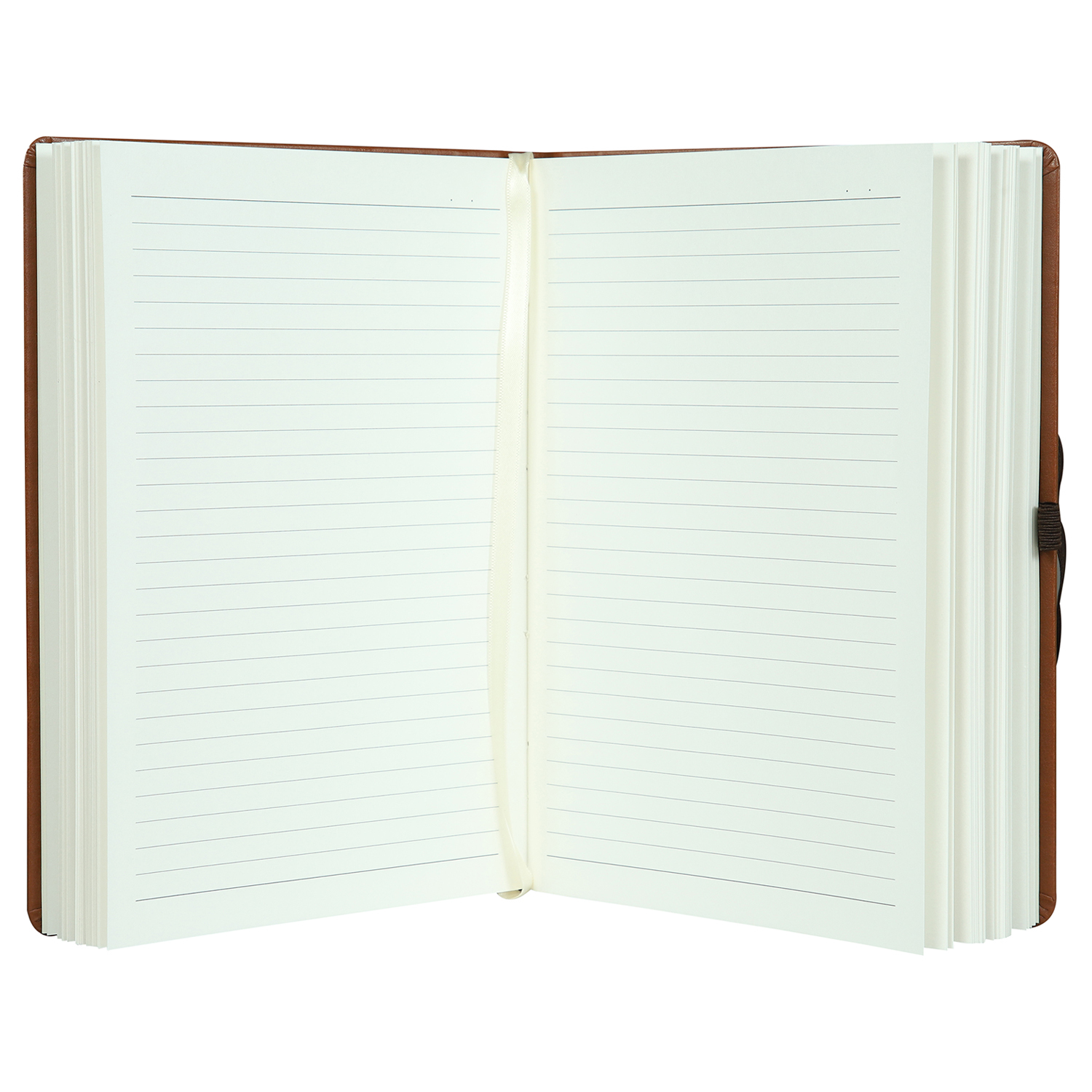 PU Leather  Personal Notes - A5 Size - Hard Bound Notebook with Elastic Band