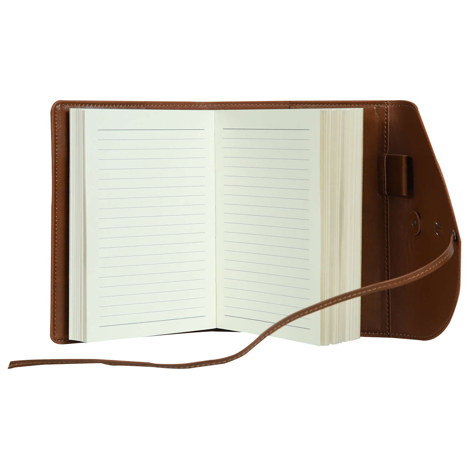 Vintage Notes - A6 Size - Notebook Diary with Flap