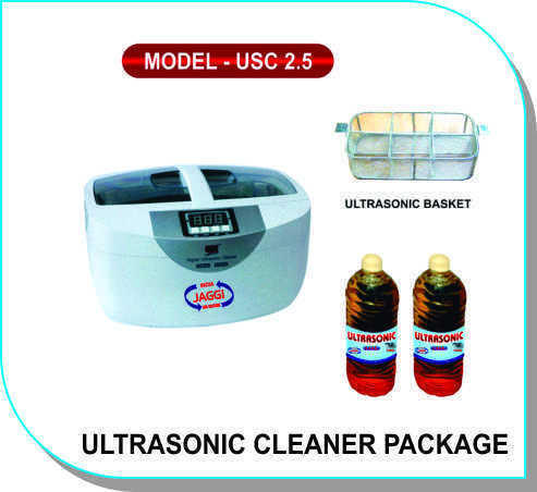 Ultrasonic Cleaners Package - USC 2.5