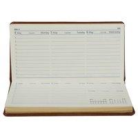 Slim Line (Horizontal) Diary- Premium - Week- at-a-glance