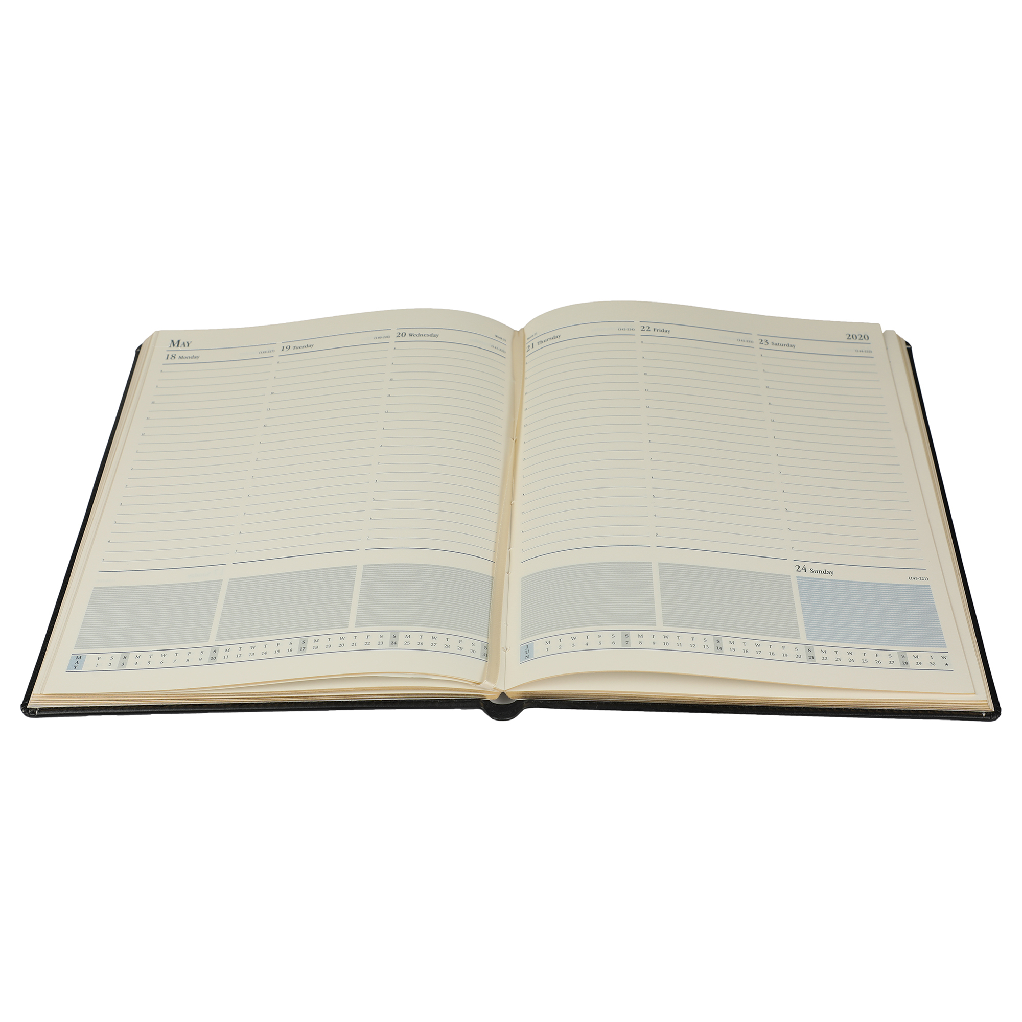 A4 Size - Week At A Glance New Year Premium Diary