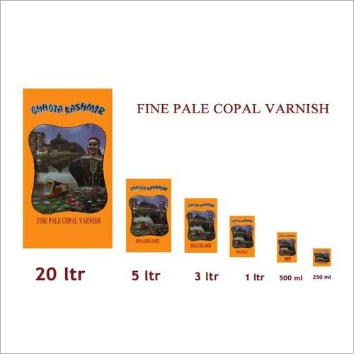 Fine Pale Copal Varnish