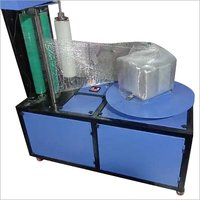 Semi automatic wrapping machine