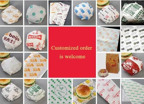Sandwich Paper-Hamburger Paper