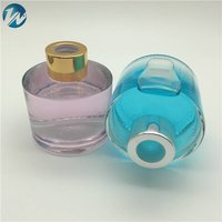 120ml High Capacity Cylindrical Type Aromatherapy Car Diffuser White Glass Bottles