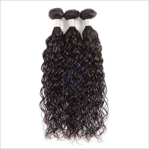 Double Machine Weft Curly Hair