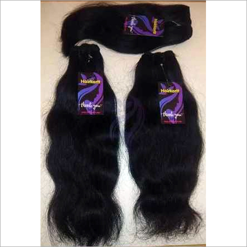 Double Machine Weft Indian Human Hair