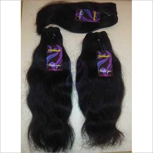 Single Machine Weft Wavy Hair