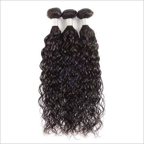 Single Machine Weft Curly Hair