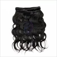 Single Machine Weft Remy Hair
