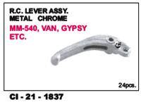 Rc Lever Assy Metal Chrome Van, Gypsy