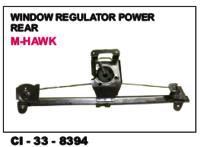 Window Regulator Power Rear M Hawk L/R