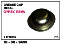 Grease Cap Metal Gypsy , Reva