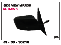 Side View Mirror M Hawk L/R