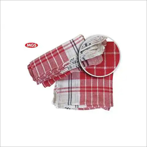 Check Duster Cloth