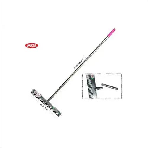 16 Inch Steel Rod Floor Wiper Wth Thread