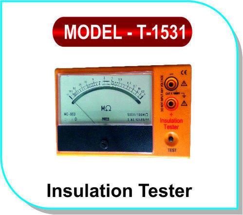 Insulation Tester Model- T- 1531