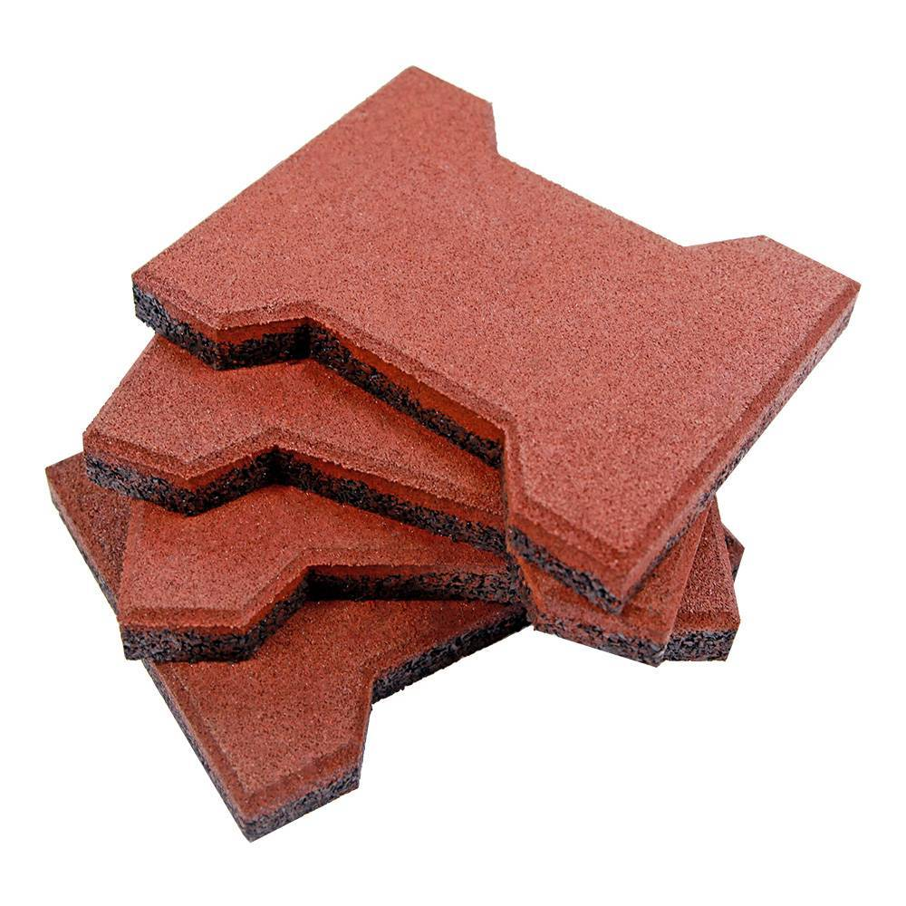 Outdoor Dog Bone Rubber Tile Pavers