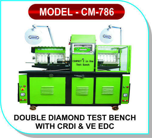 Double Diamond Test Bench with CRDI