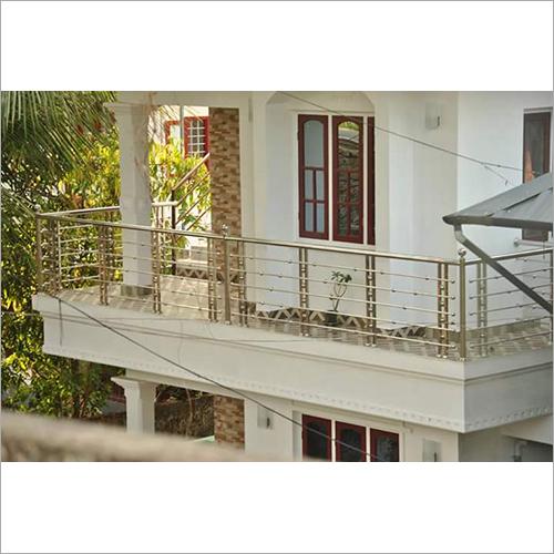 SS Designer Balcony Grill