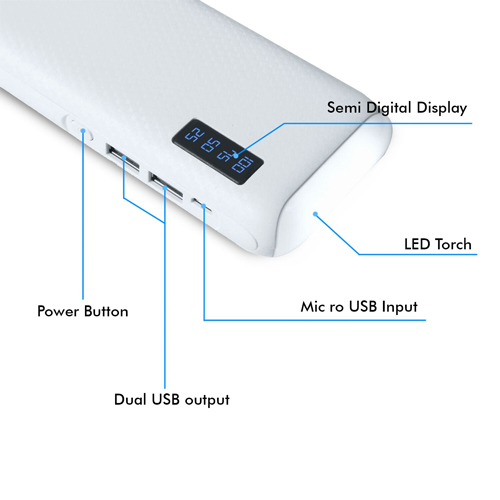 Power Bank 15000 Lithium-ion
