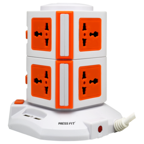 Press Fit Tower Power Strip
