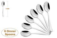 Shapes Artic Dinner Spoon 6 Pcs