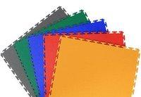 Interlocking PVC Flooring Tiles for Garages and Warehouse