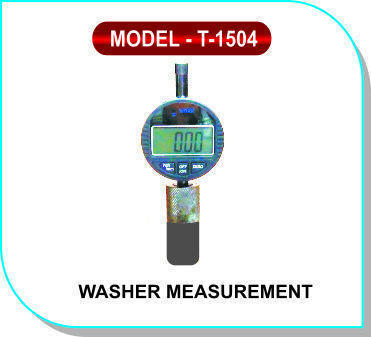 Washer Measurement Model- T- 1504