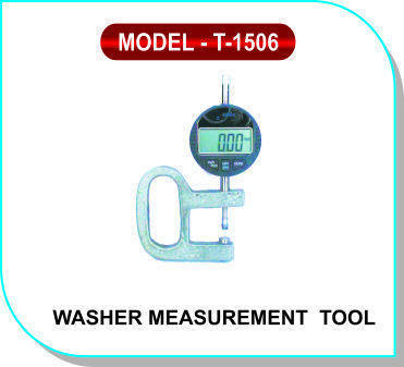 Washer Measurement Tool Model- T-1506