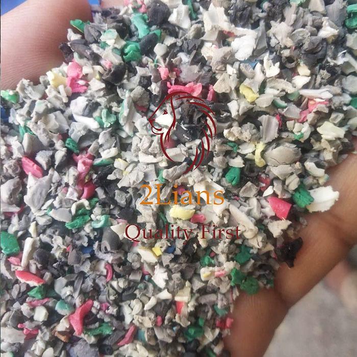 PVC Soft Mix Color pvc pipe scrap regrind Post Industrial Waste