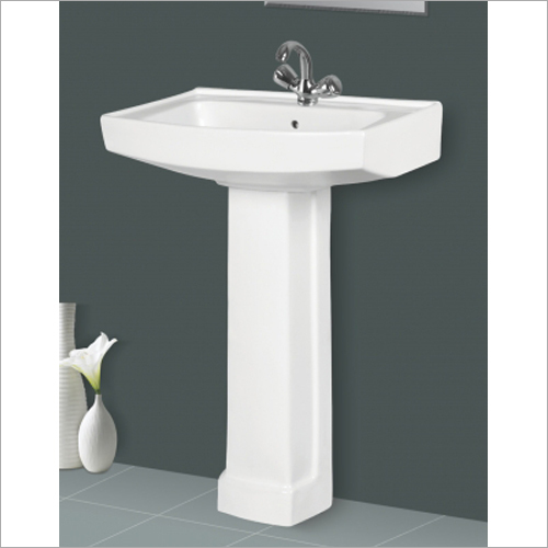 Polo Sterling Pedestal Wash Basin