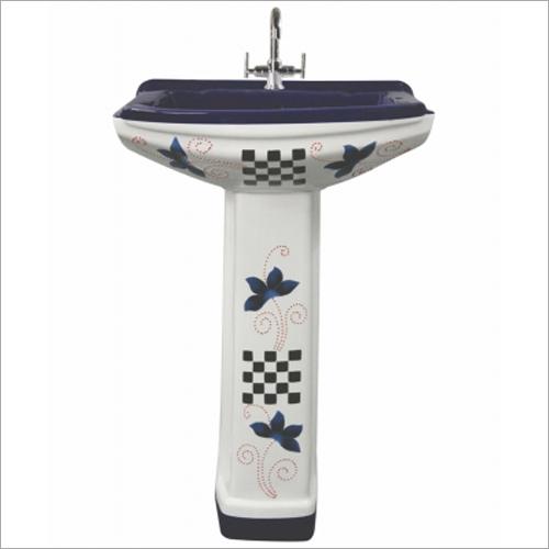 Ceramic Designer Pedestal Wash Basin