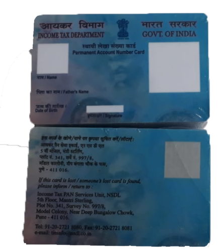 PRE-PRINT PAN CARD SUPPLIERS IN PATNA