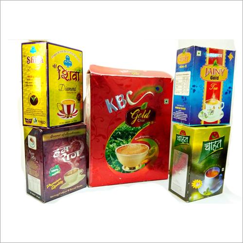 Duplex Paper Tea Packaging Box