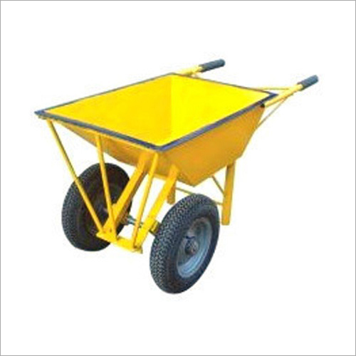 Double Wheel Barrow Trolley