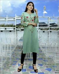Ladies Straight Fit Kurti