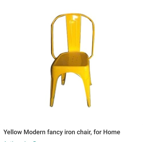 yellow modern fancy chair