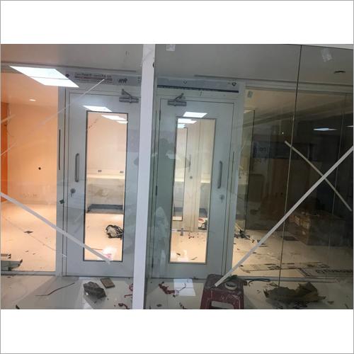 Transparent Glass Door