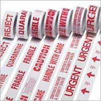 Warning Message Tape