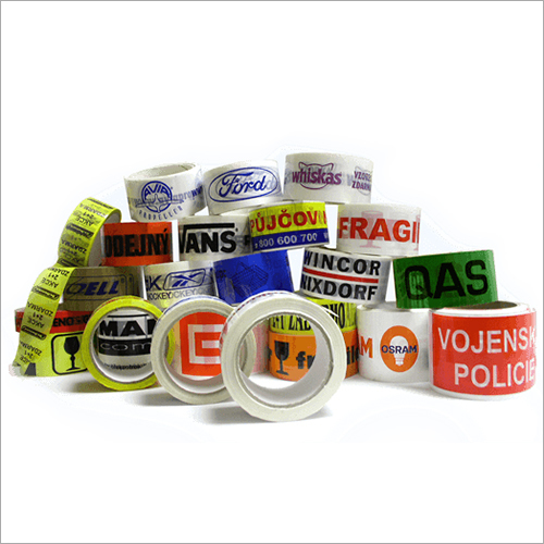 Brand Printed Adhesive Tapes