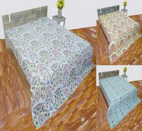 Cotton Kantha Quilts Queen Size
