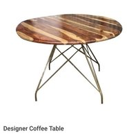 designer coffee cafe table