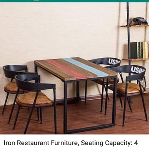 iron restaurent furniture