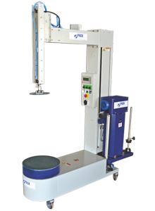Box Strech Wrapping Machines-Power Pre Strech